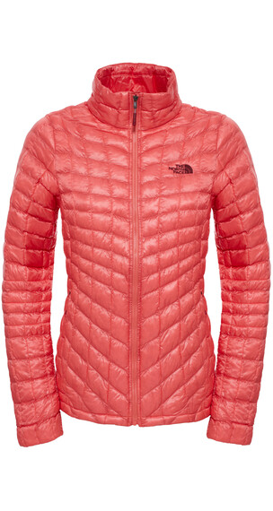 The North Face W's Thermoball FZ Jacket Spiced Coral